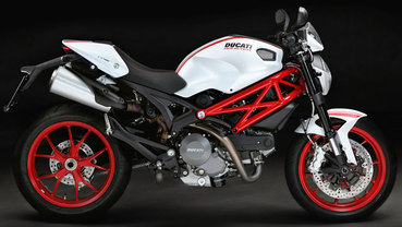 Ducati Monster Right Side Viewfull Image