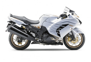 Kawasaki Ninja ZX-14R Right Side Viewfull Image
